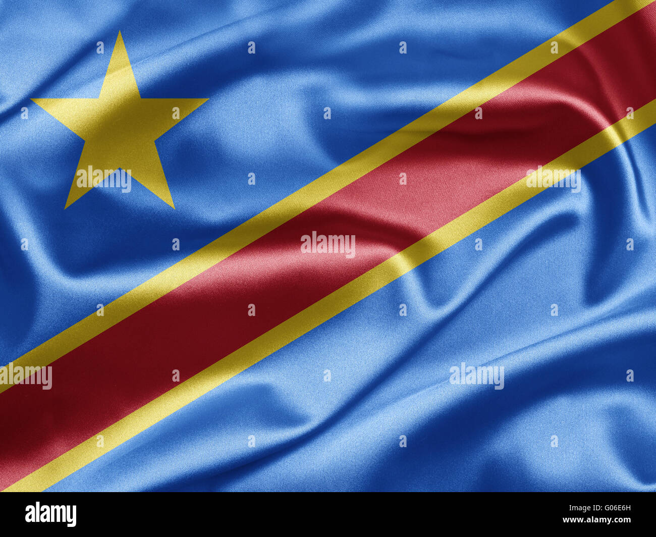 Democratic Republic of the Congo - Stock Image