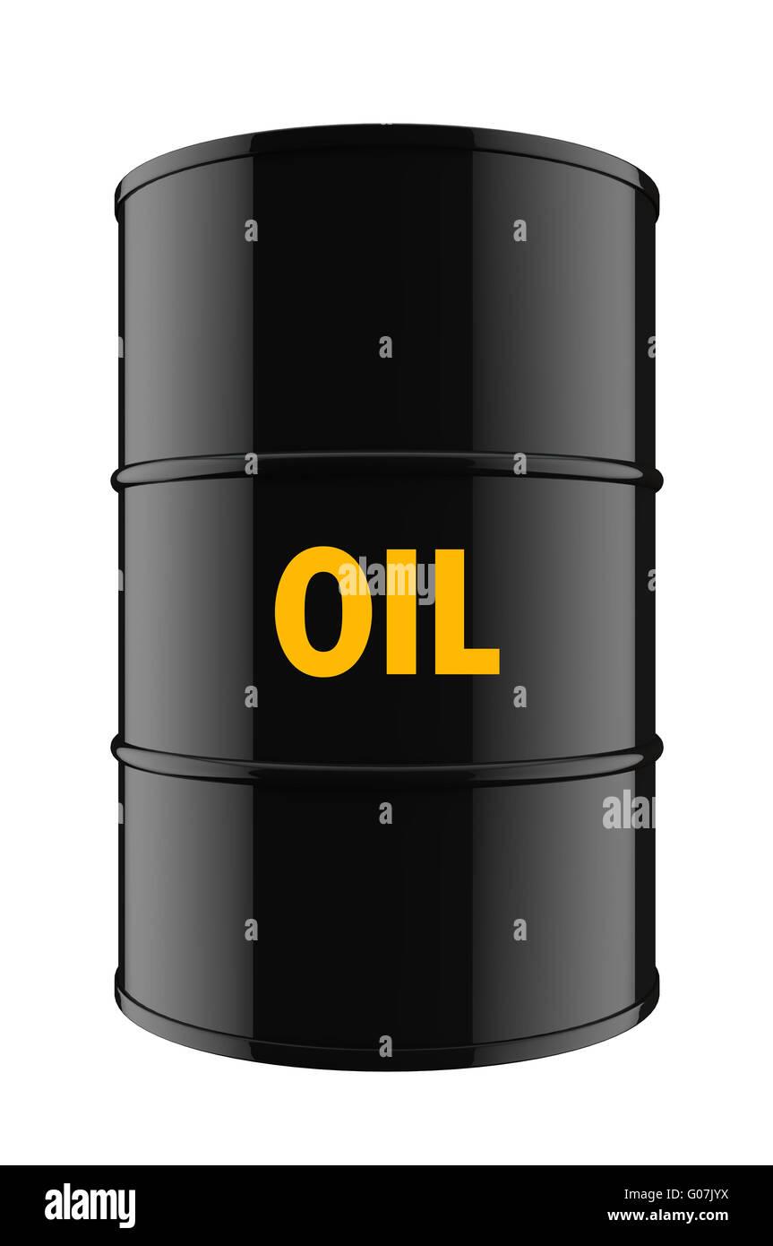 Oil barrel - Stock Image