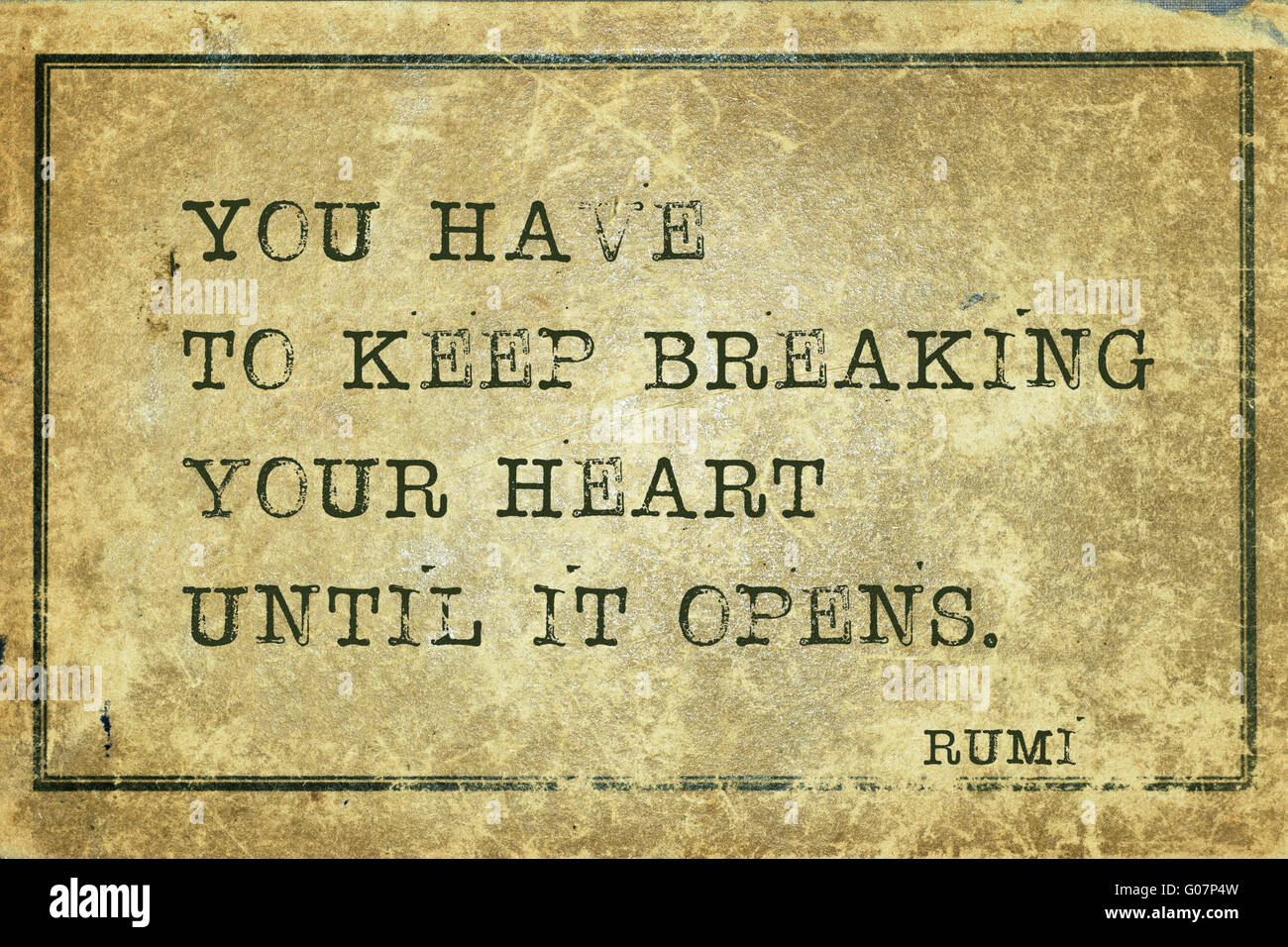 You Have To Keep Breaking Your Heart Ancient Persian Poet And