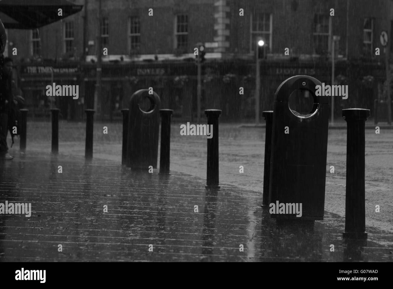 rainy day II - Stock Image