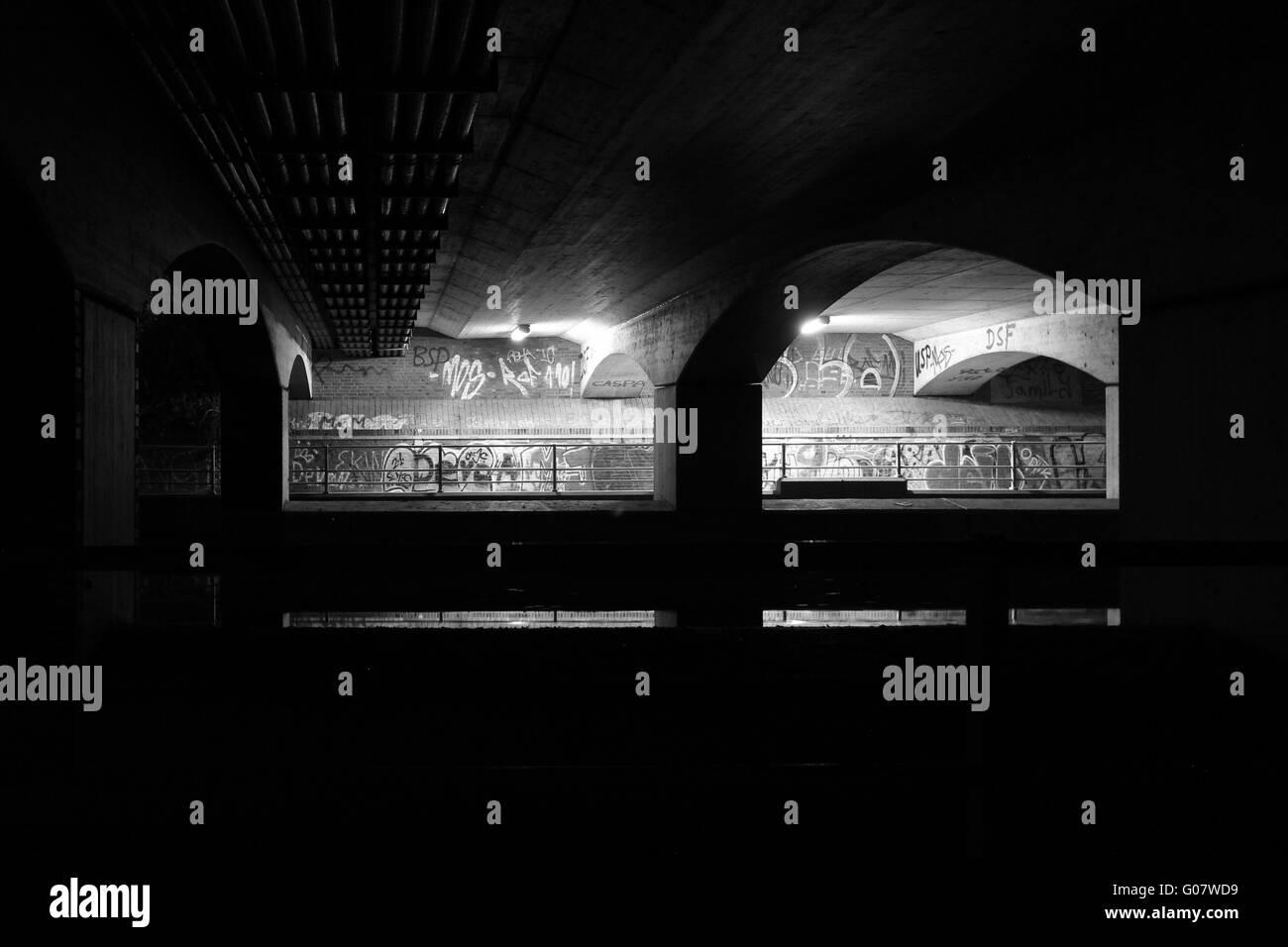 underground II - Stock Image