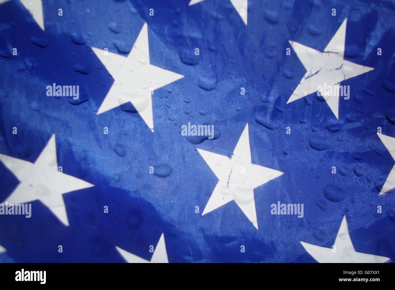 Rainy America - Stock Image