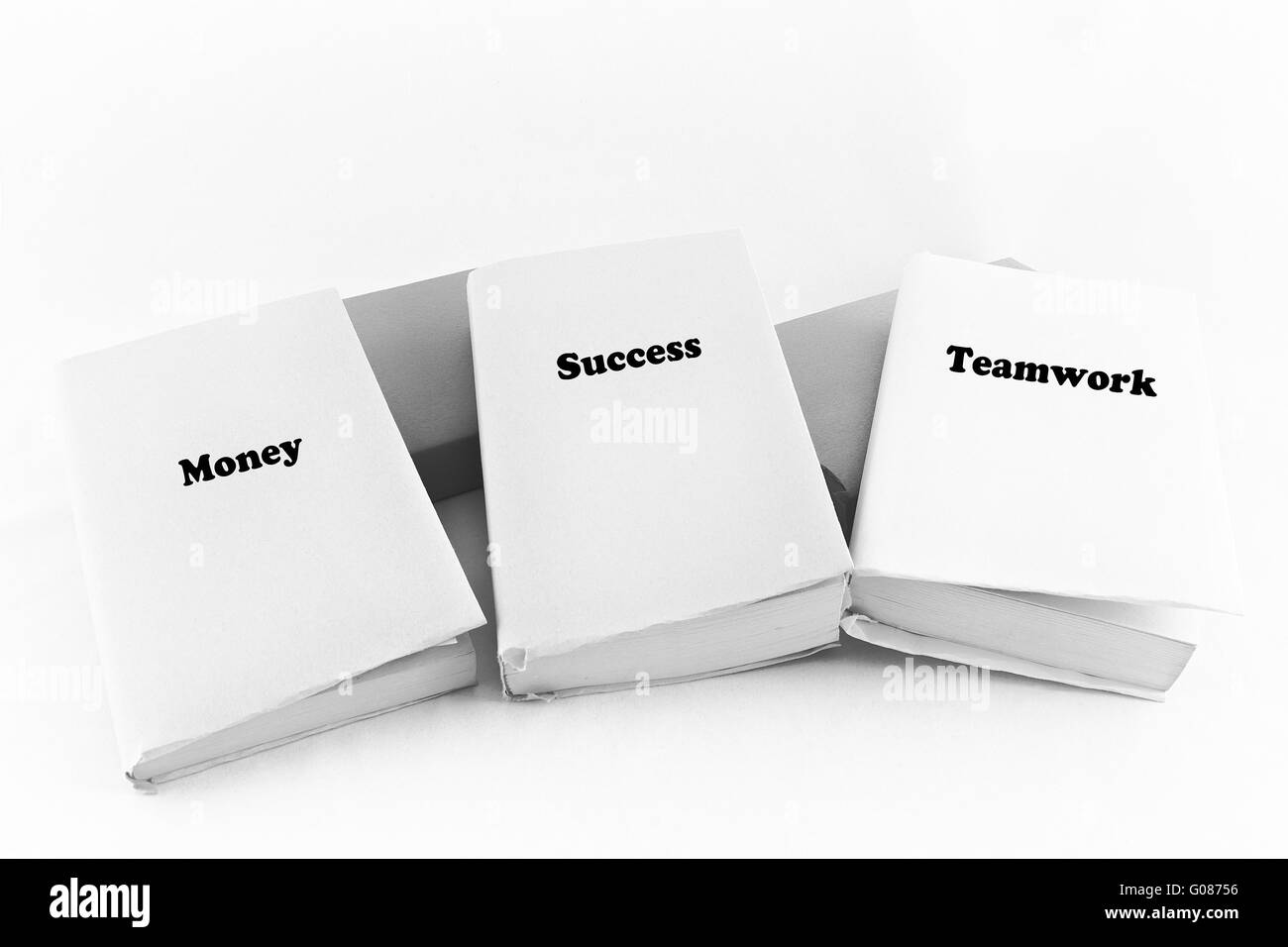 Business Books Stock Photo