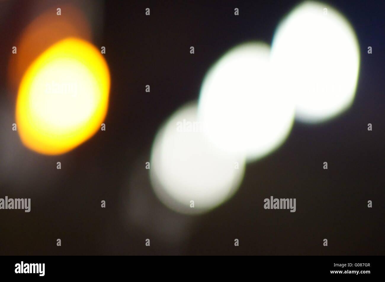 Traffic Light Abtract - Stock Image