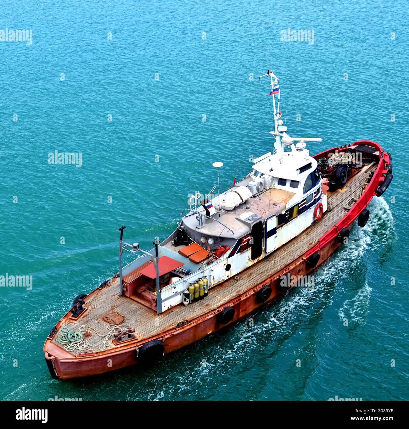 Old Tug Boat Stock Photos & Old Tug Boat Stock Images