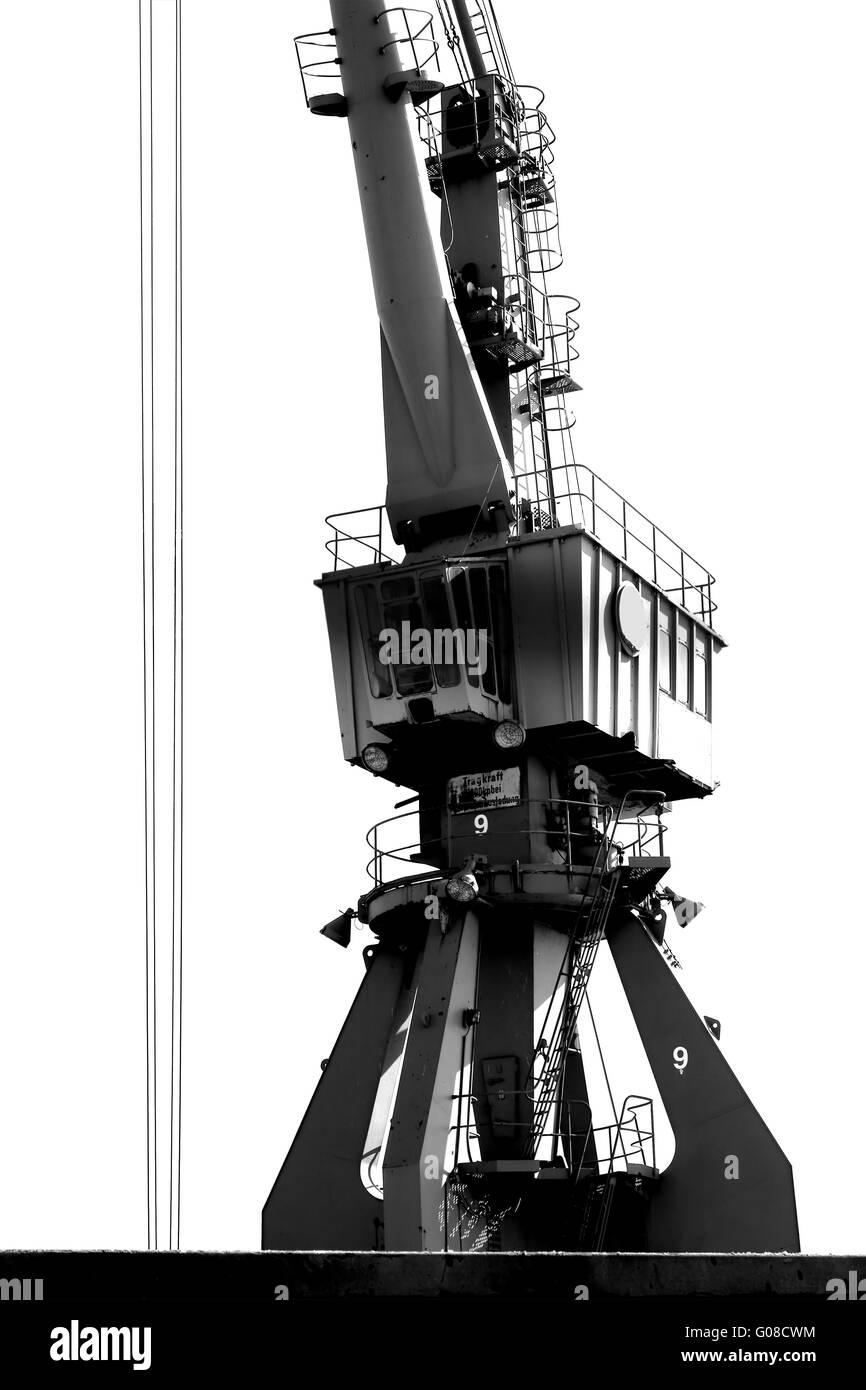 Lift crane - Stock Image