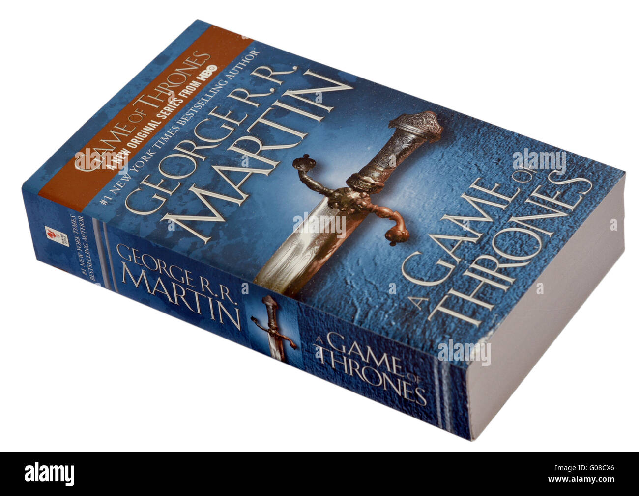 A Game of Thrones Book 1 of A Song of Ice and Fire by George RR Martin - Stock Image