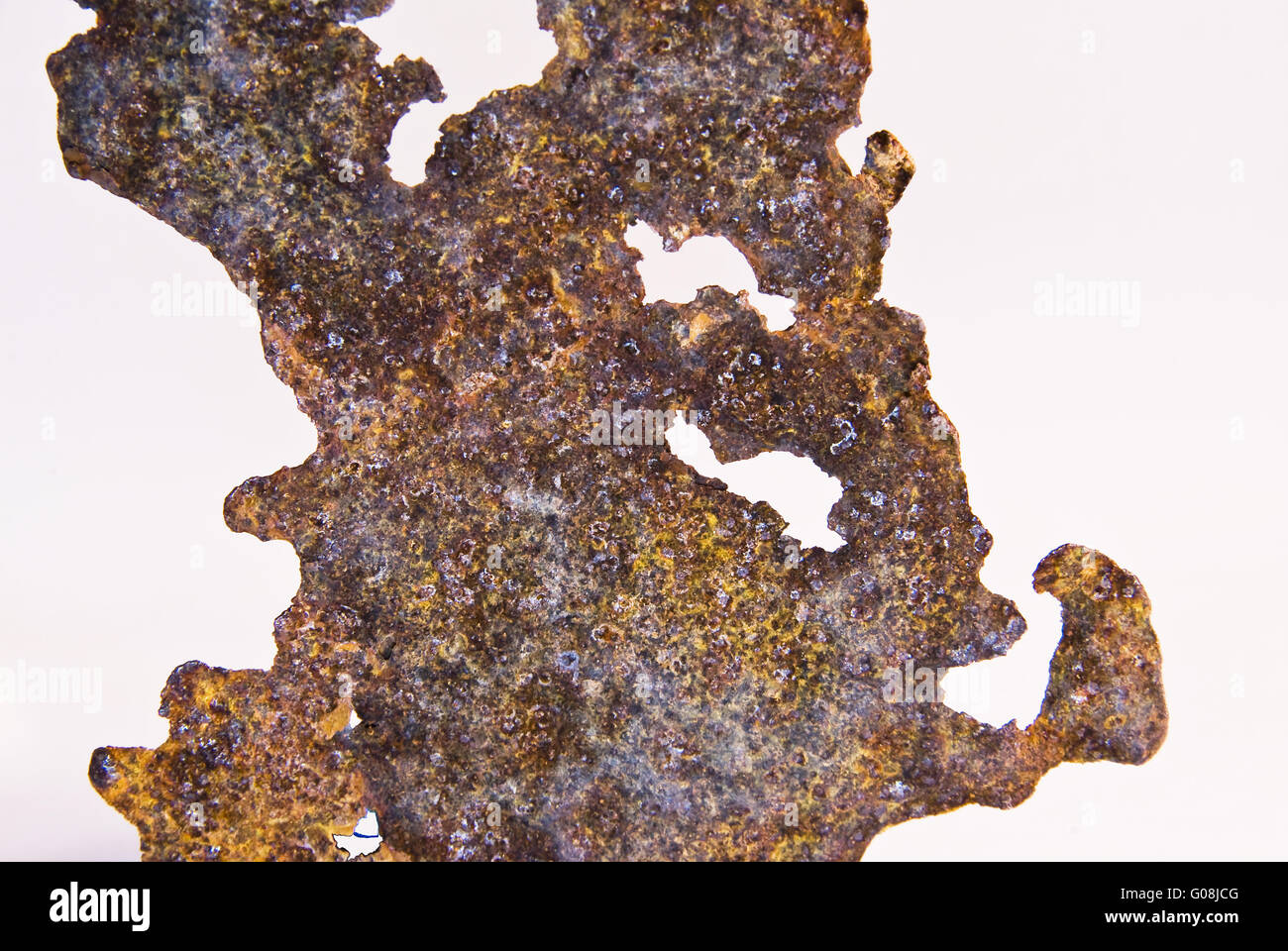 Rusty Iron Stock Photo