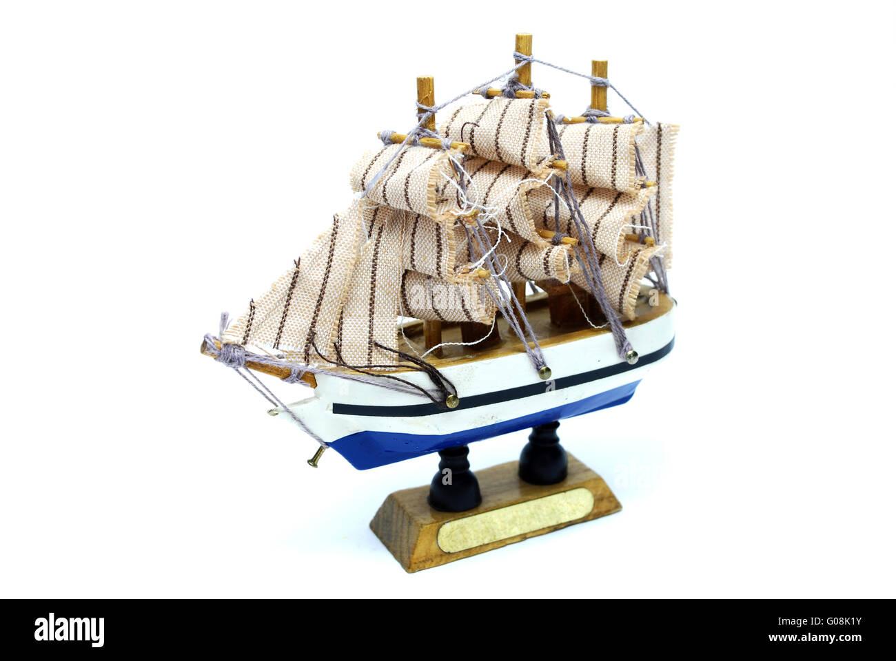 Frigate Ship Model - Stock Image