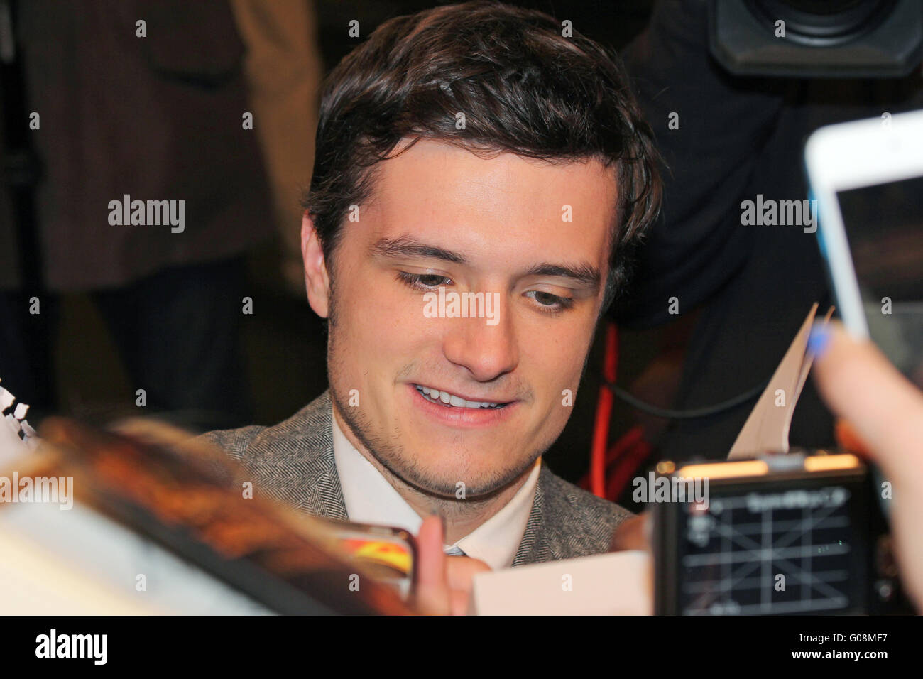 The Hunger Games - Catching Fire: Josh Hutcherson - Stock Image