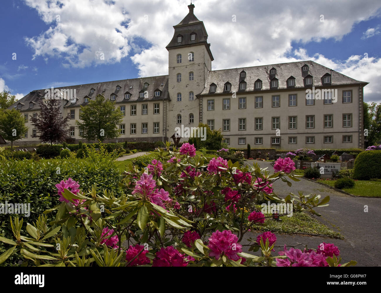 The monastery in the county, Schmallenberg,Germany - Stock Image