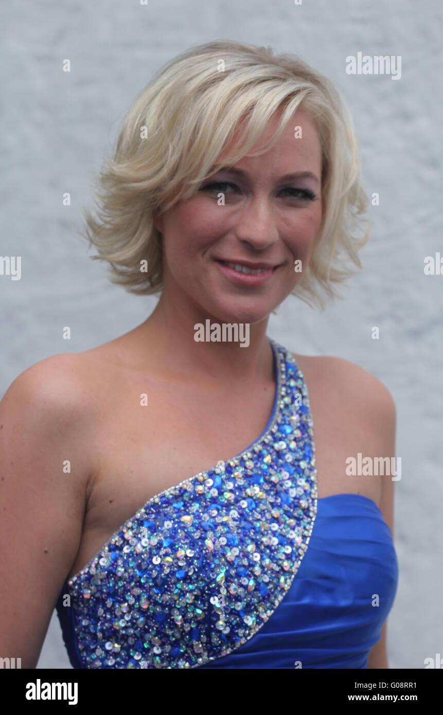 Singer Liane - Stock Image