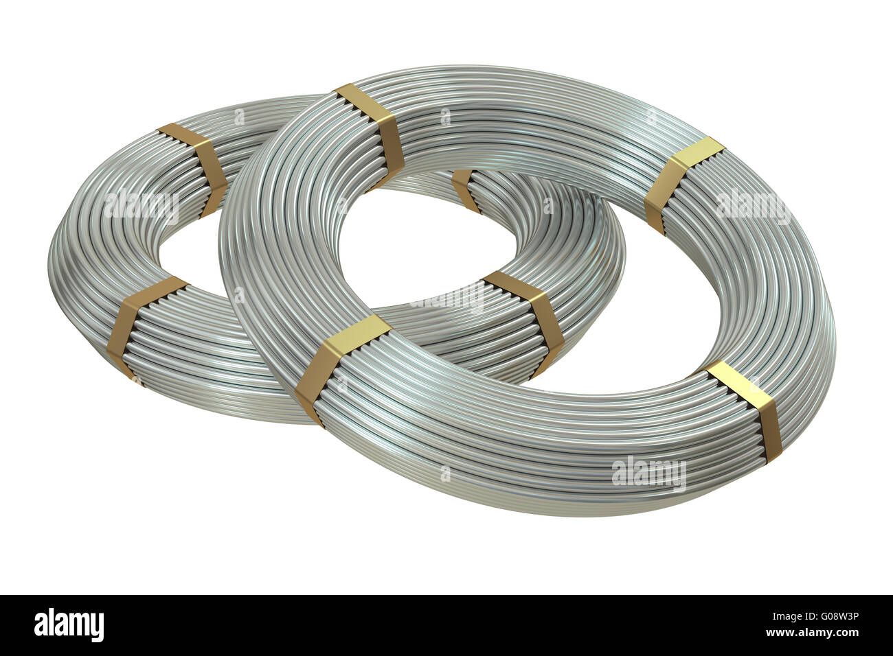 Steel Wire Coils Stock Photos & Steel Wire Coils Stock Images - Alamy