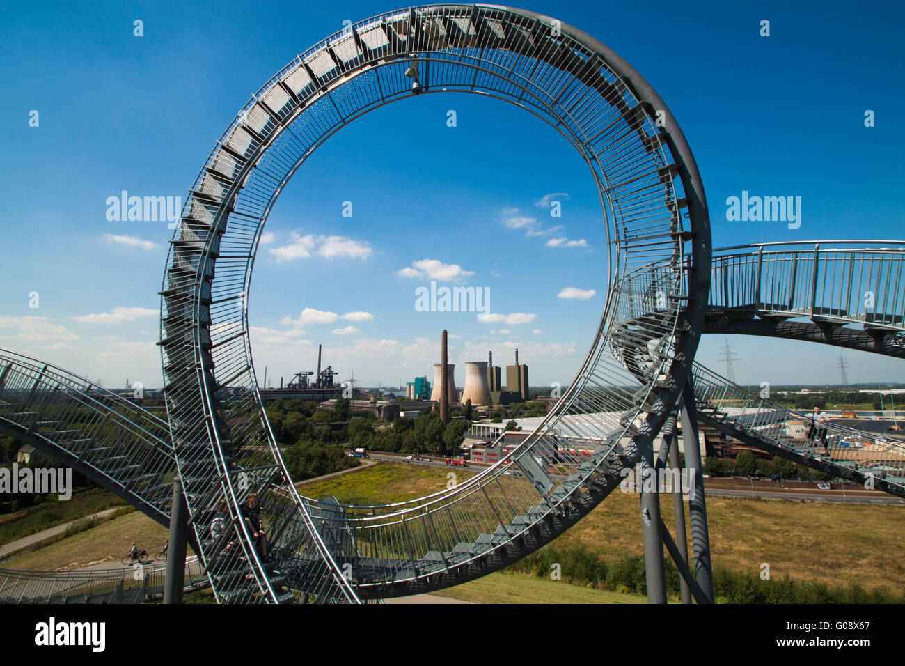 Duisburg Tiger and Turtle Stock Photo