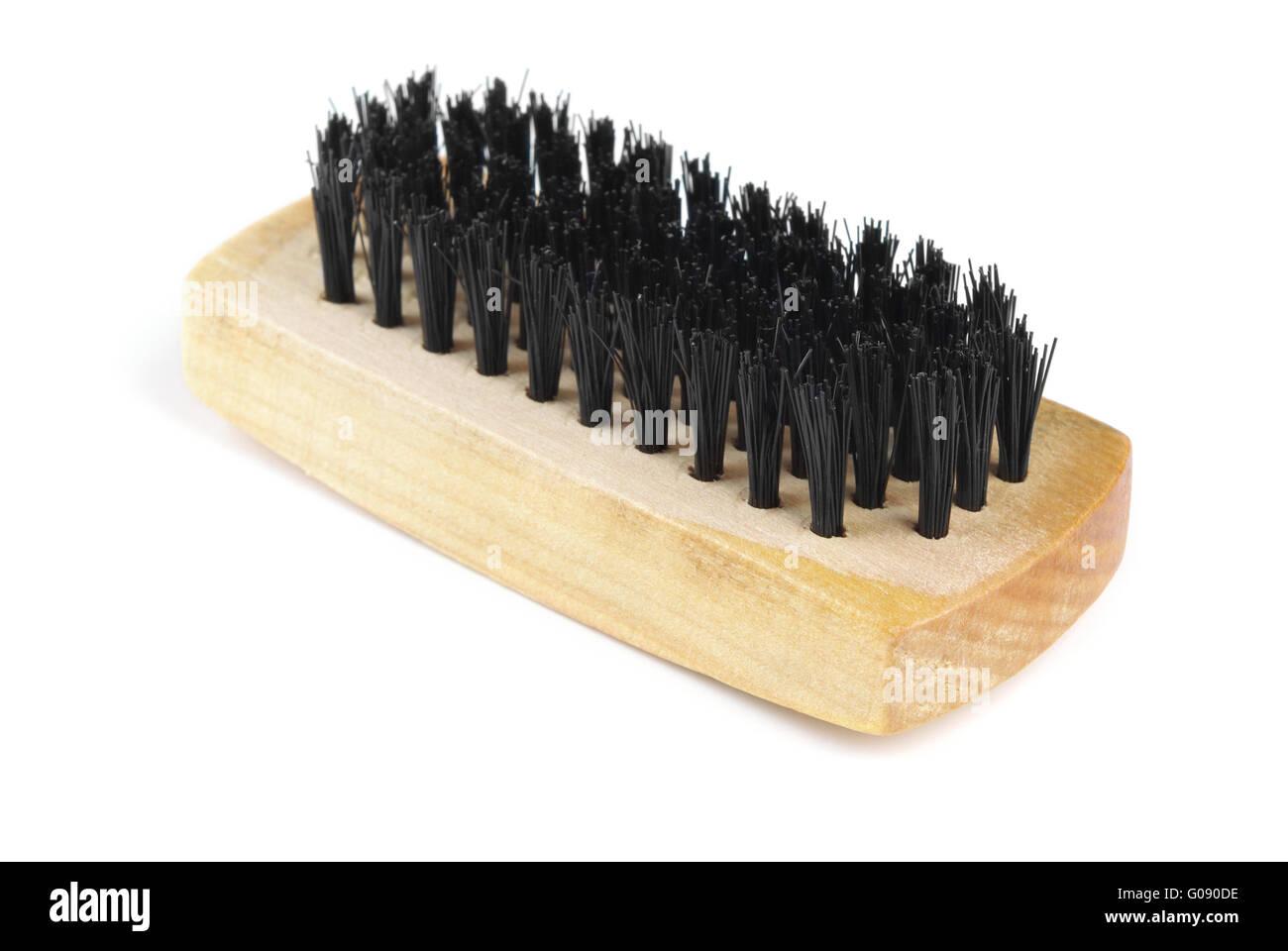 Shoe brush - Stock Image