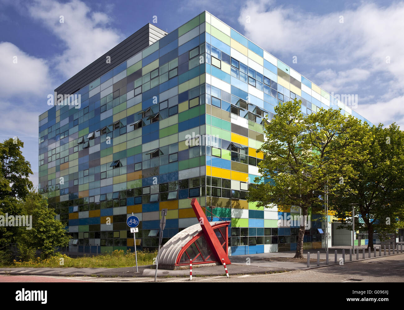 The Bio Medical Center in Bochum in Germany. - Stock Image