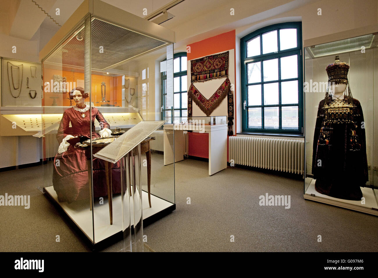 Culture and Local History Museum, Duisburg,Germany - Stock Image