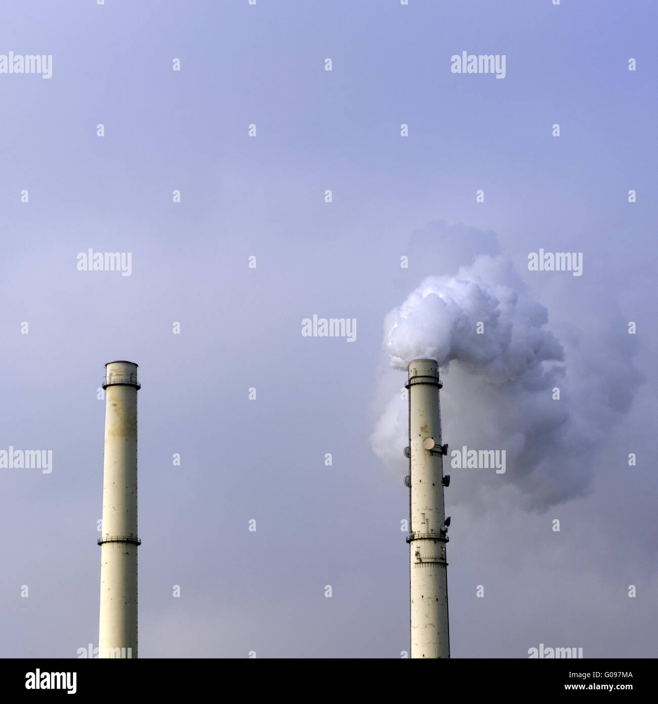 partial operation industry - Stock Image