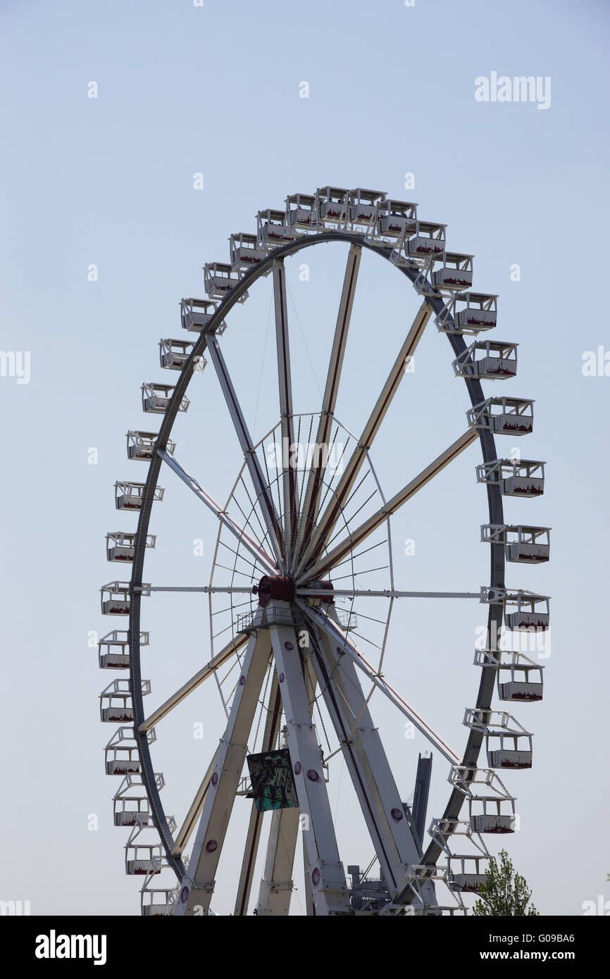 Ferris wheel in the haborcity in Hamburg, Germany - Stock Image