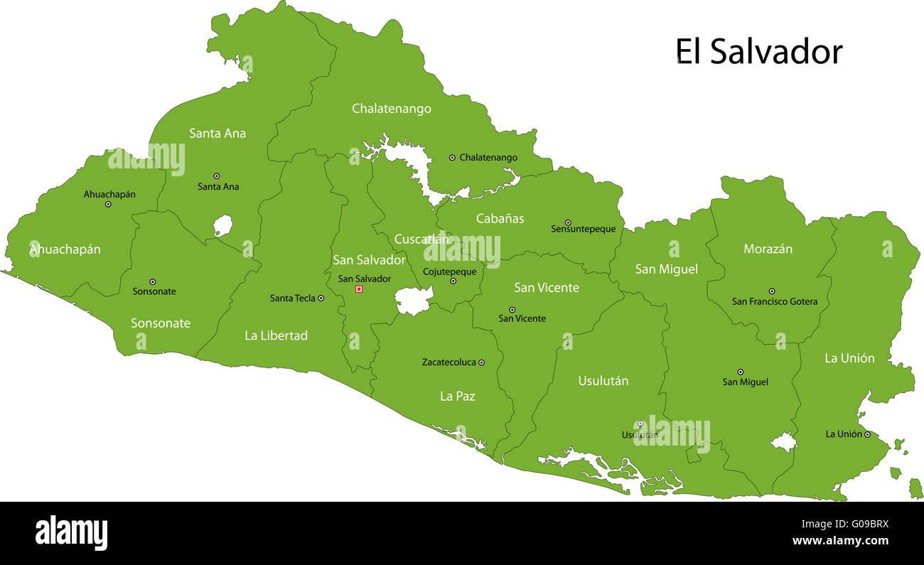 San Salvador City Map