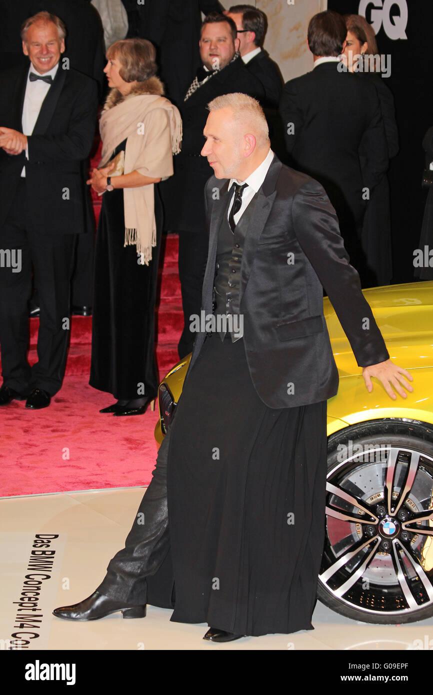 GQ Men of the Year award:Jean Paul Gaultier - Stock Image