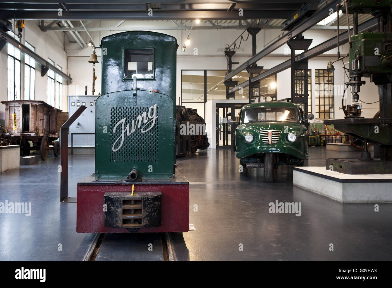 The machines and Local History Museum in Eslohe. - Stock Image