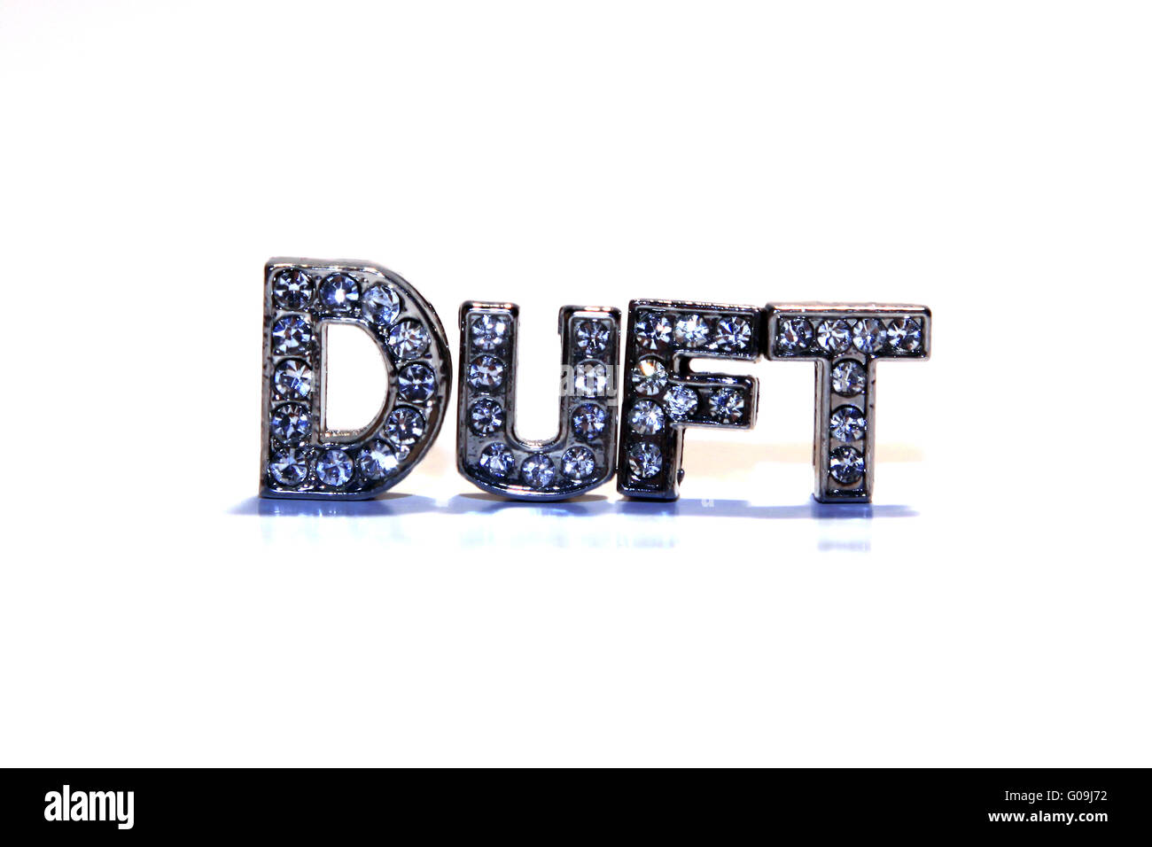 Word DUFT isolated on white background - Stock Image