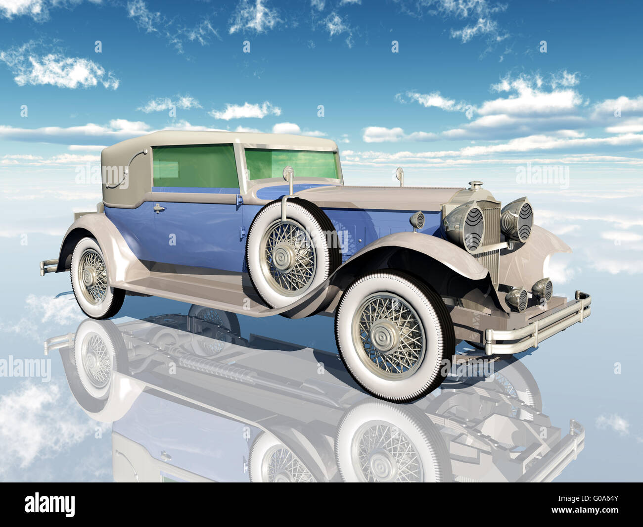 American Car from the 1930s - Stock Image