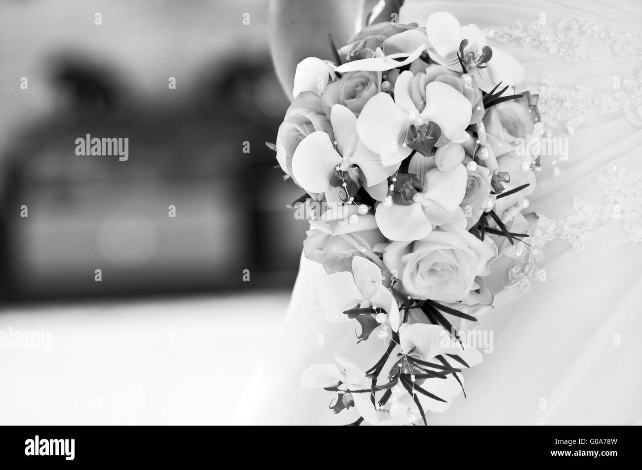 bridal flowers Stock Photo