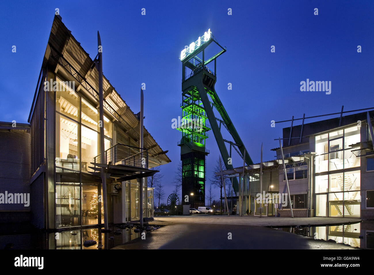 Former coal mine Erin, Castrop-Rauxel, Germany - Stock Image
