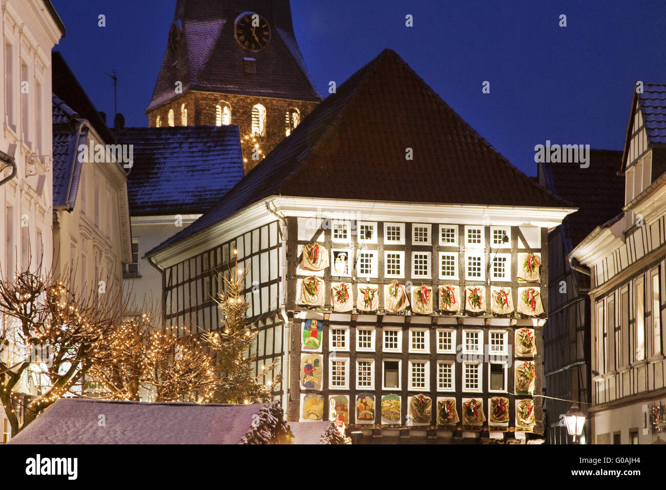 Alte Weihnachtskalender.Weihnachtskalender Stock Photos Weihnachtskalender Stock Images
