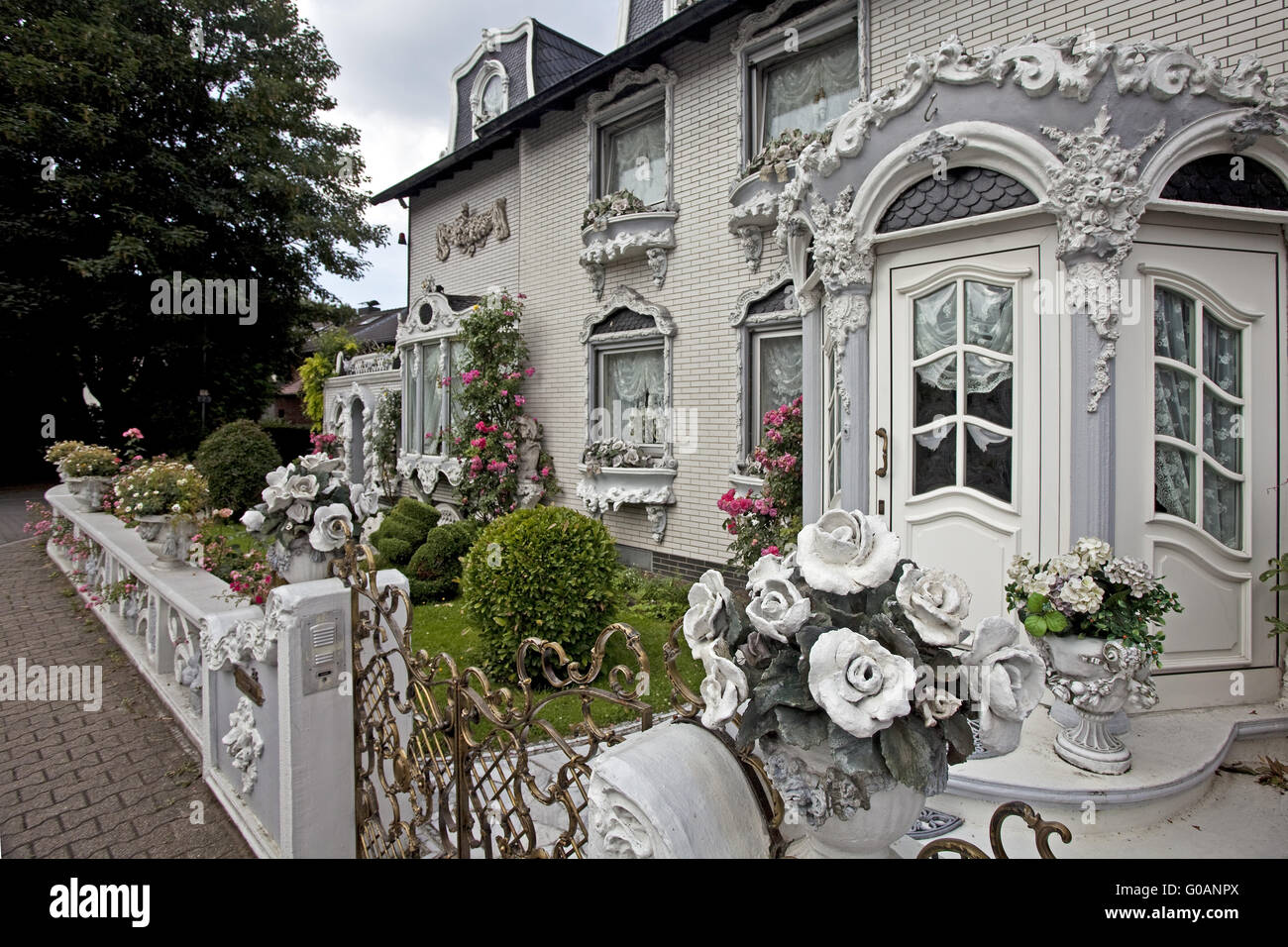Architectural style Gelsenkirchen Baroque, Germany - Stock Image