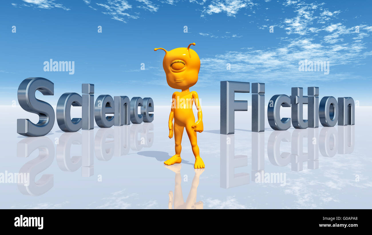Science Fiction - Stock Image