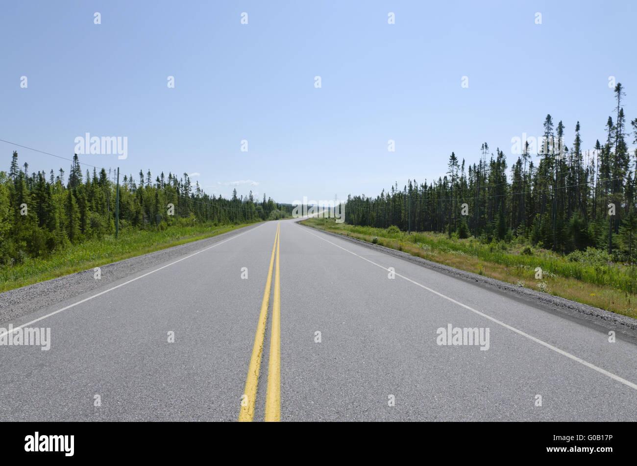 TransCanada highway - Stock Image