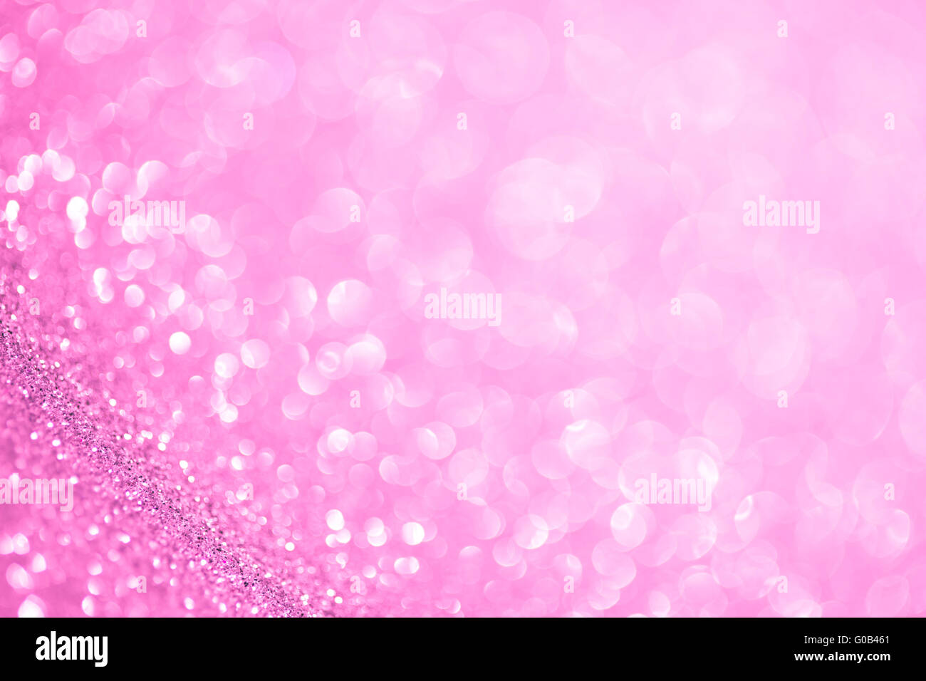 Beautiful festive abstract background with a small depth of field - Stock Image