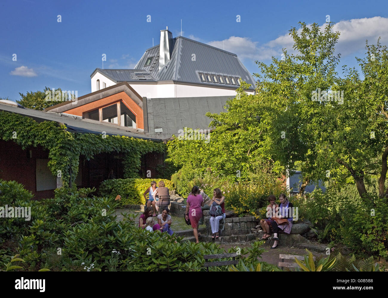Institute for Waldorf Education Witten, Germany - Stock Image