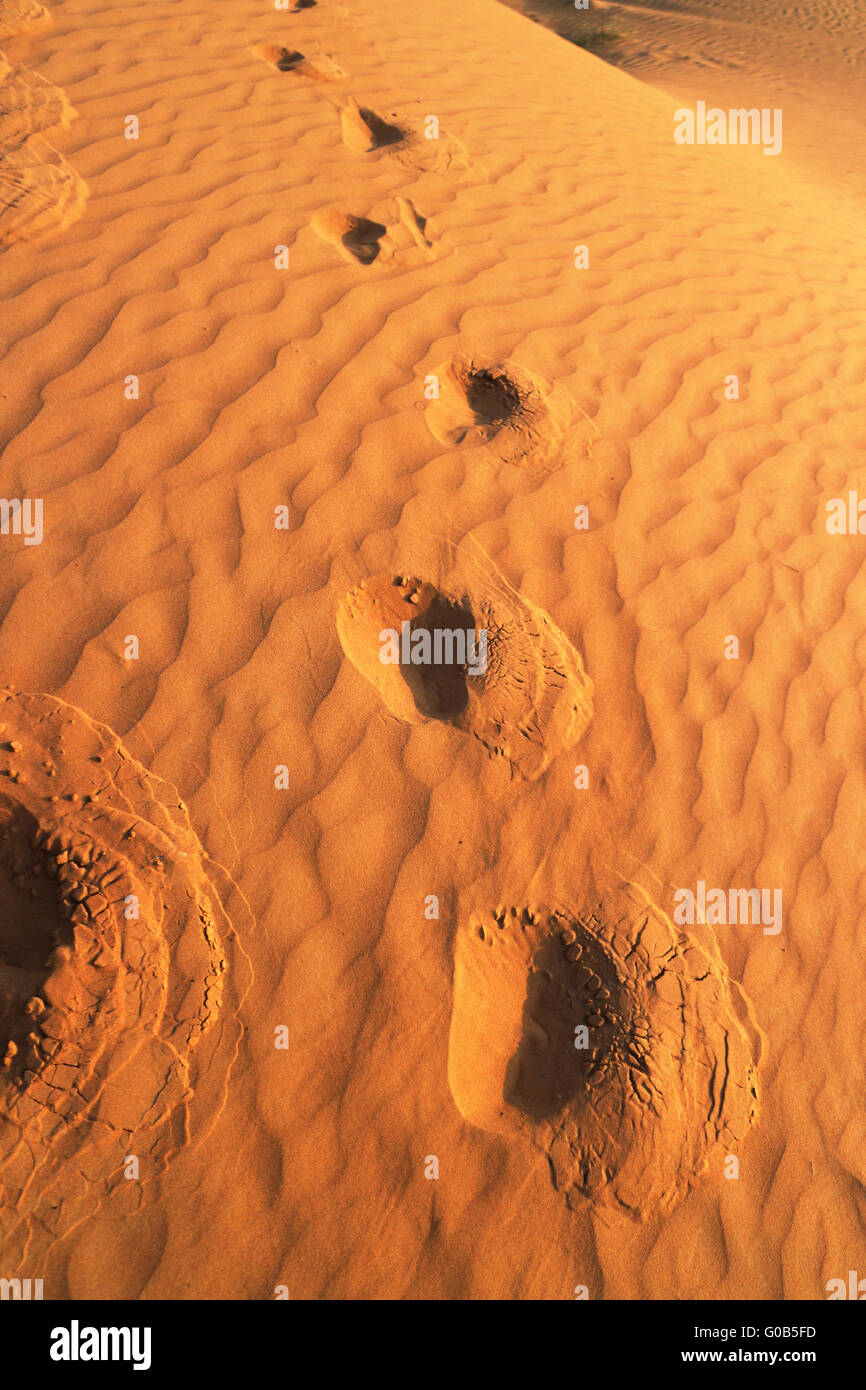 Desert Rub al Chali - Stock Image