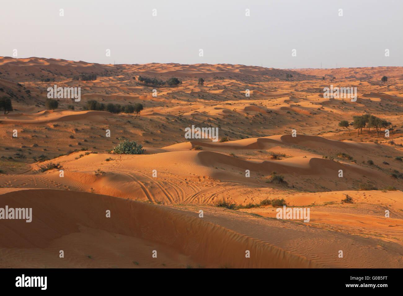 Desert Rub al Khali - Stock Image