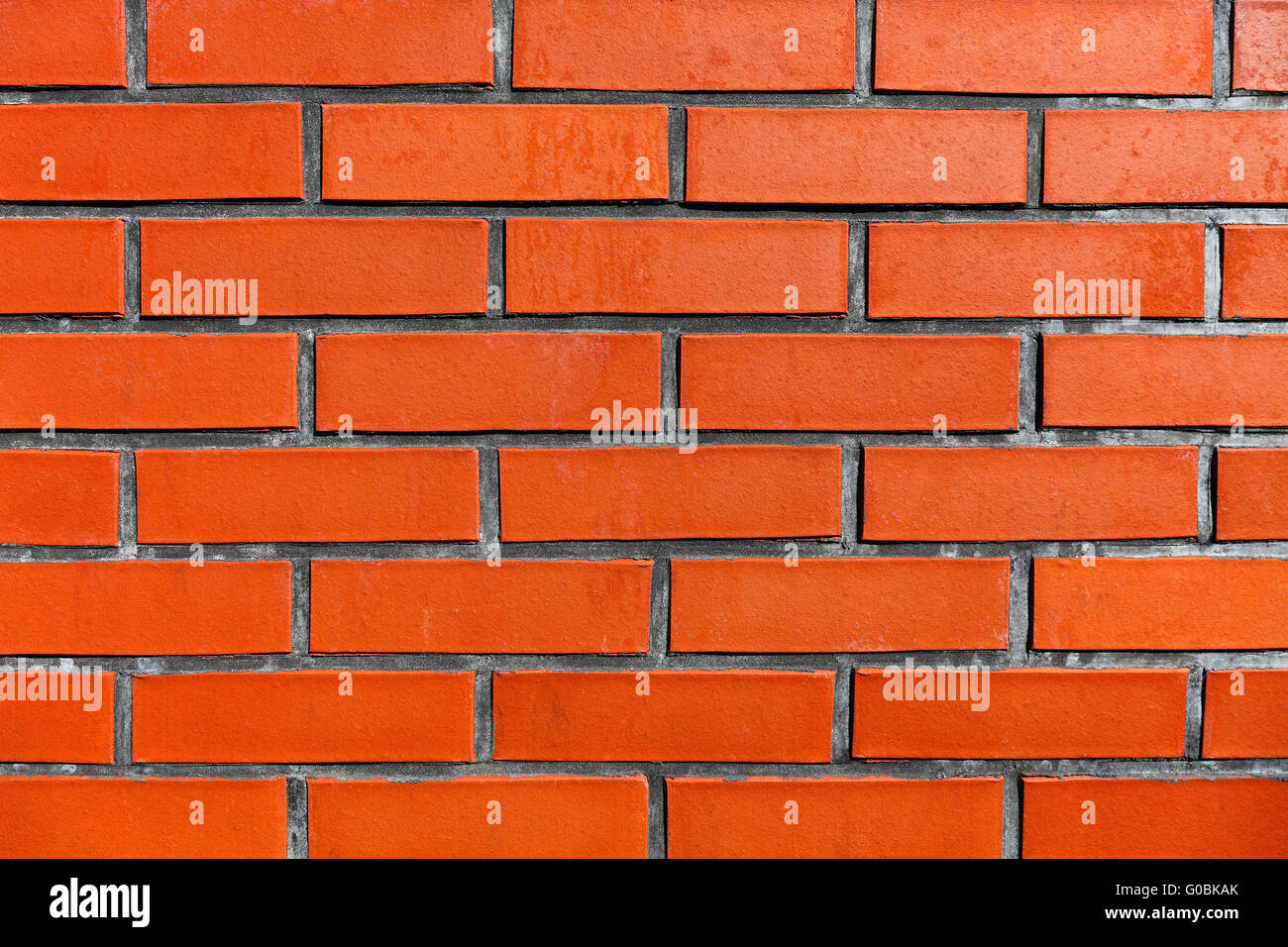 Brick wall background - Stock Image