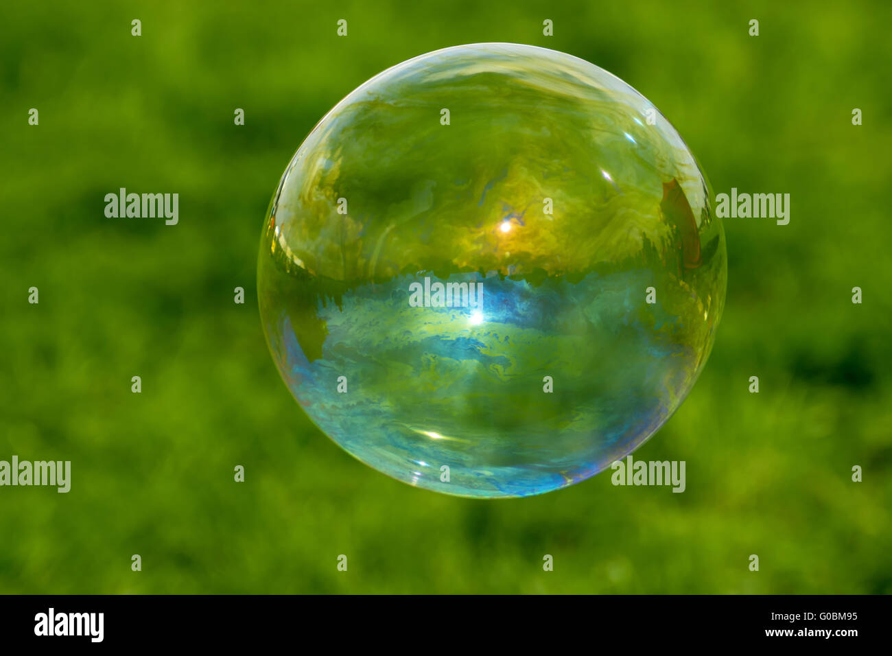 Bubble - iridescent beauty Stock Photo