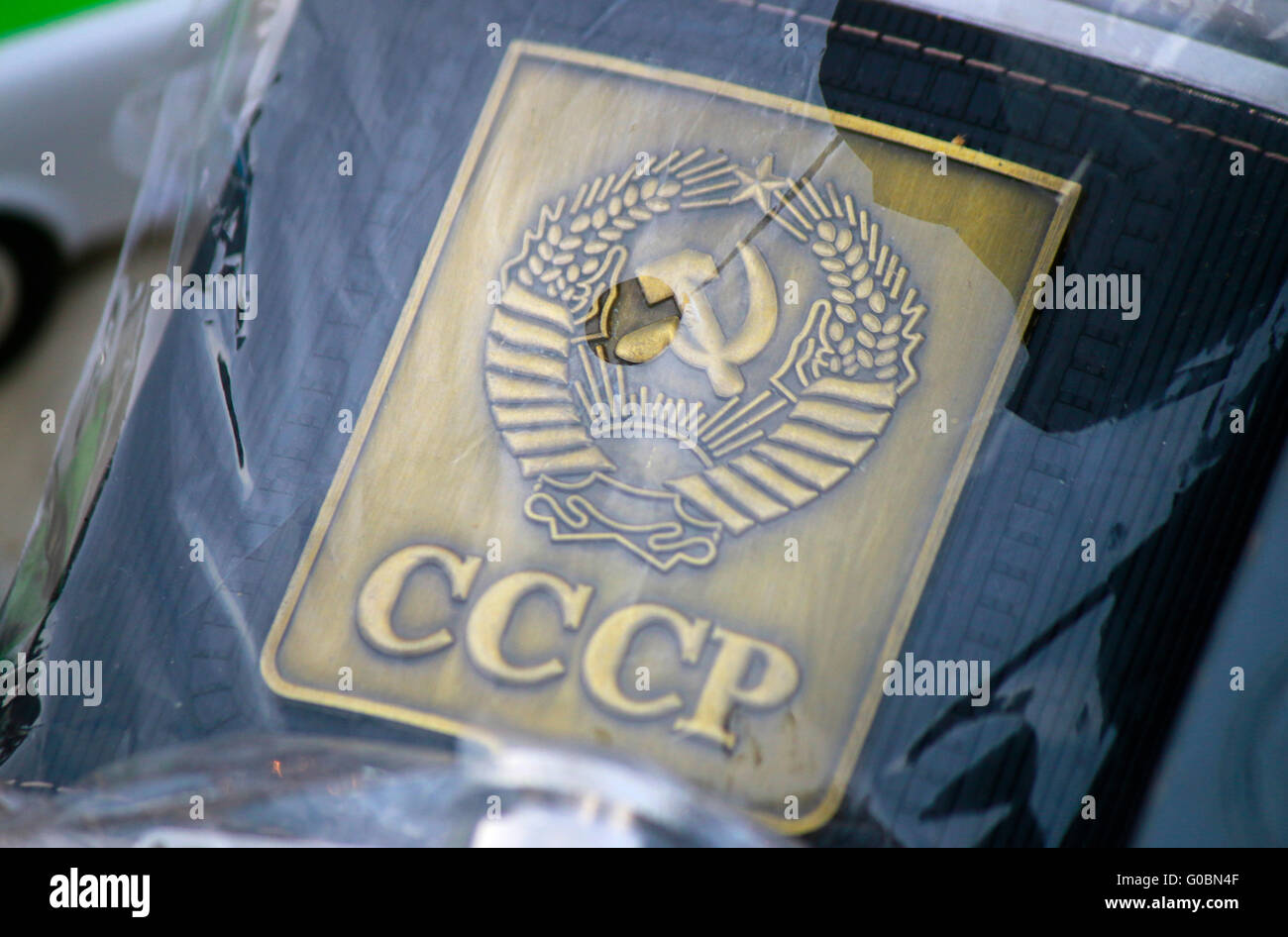 CCCP - Sowjetunion/ Soviet Union, Berlin. - Stock Image