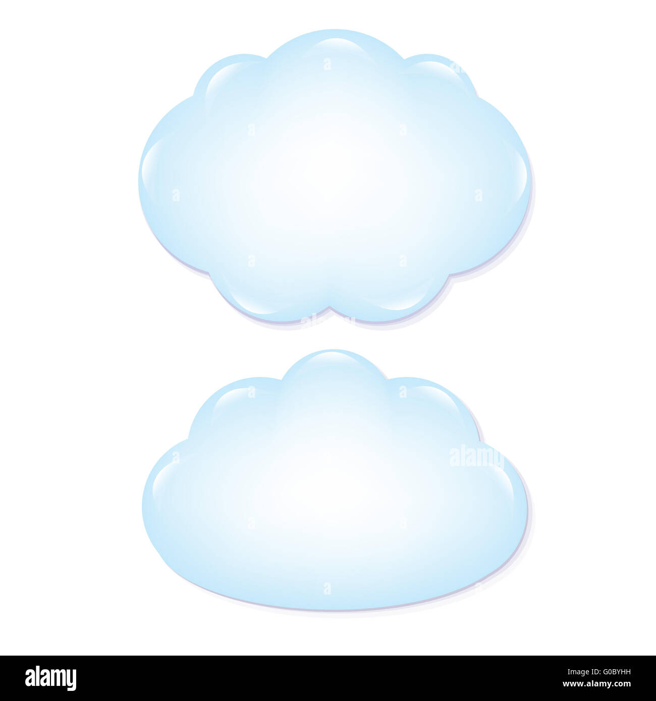 Clouds Set - Stock Image