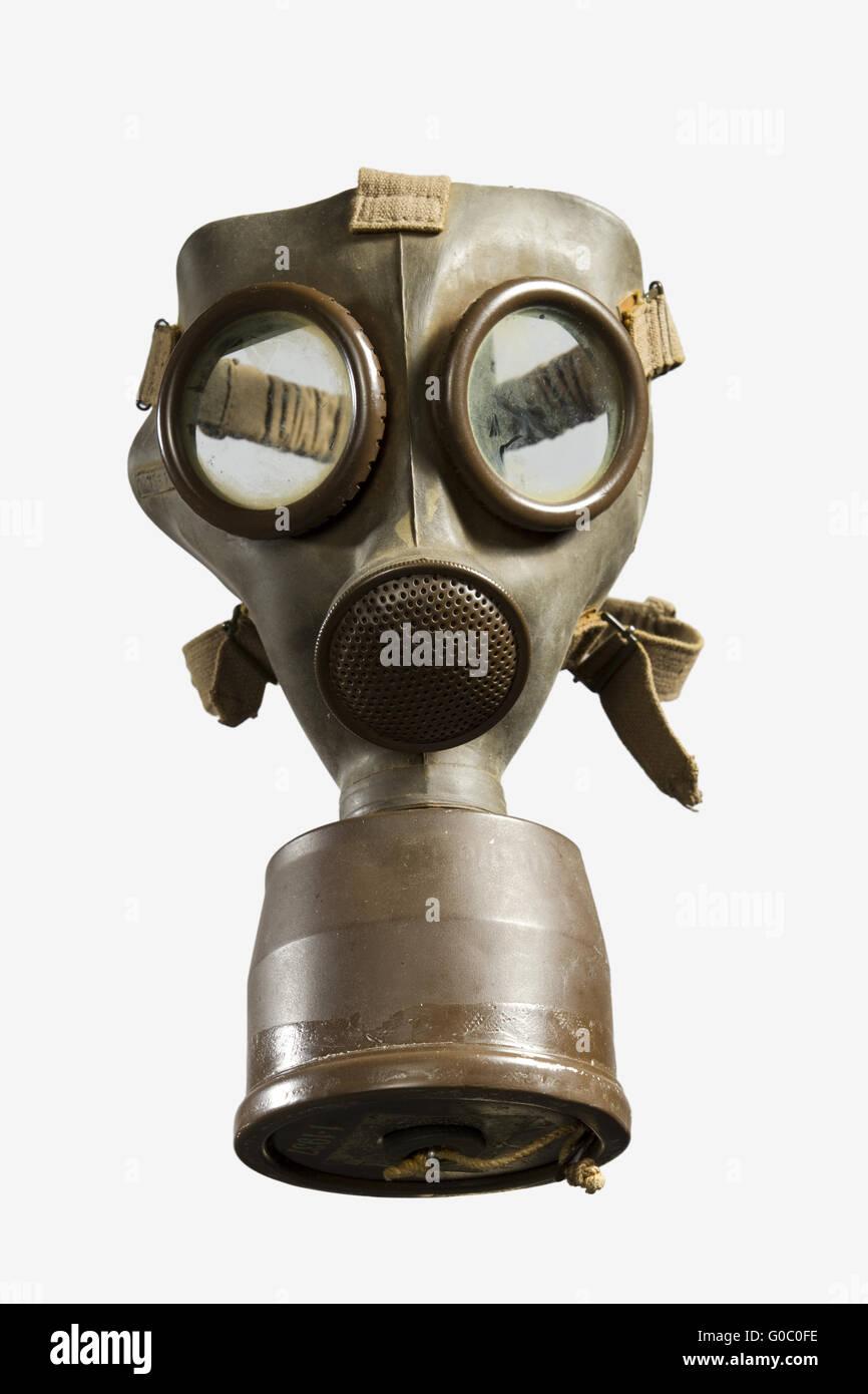 Vintage Gas Mask Isolated Stock Photo: 103526066 - Alamy