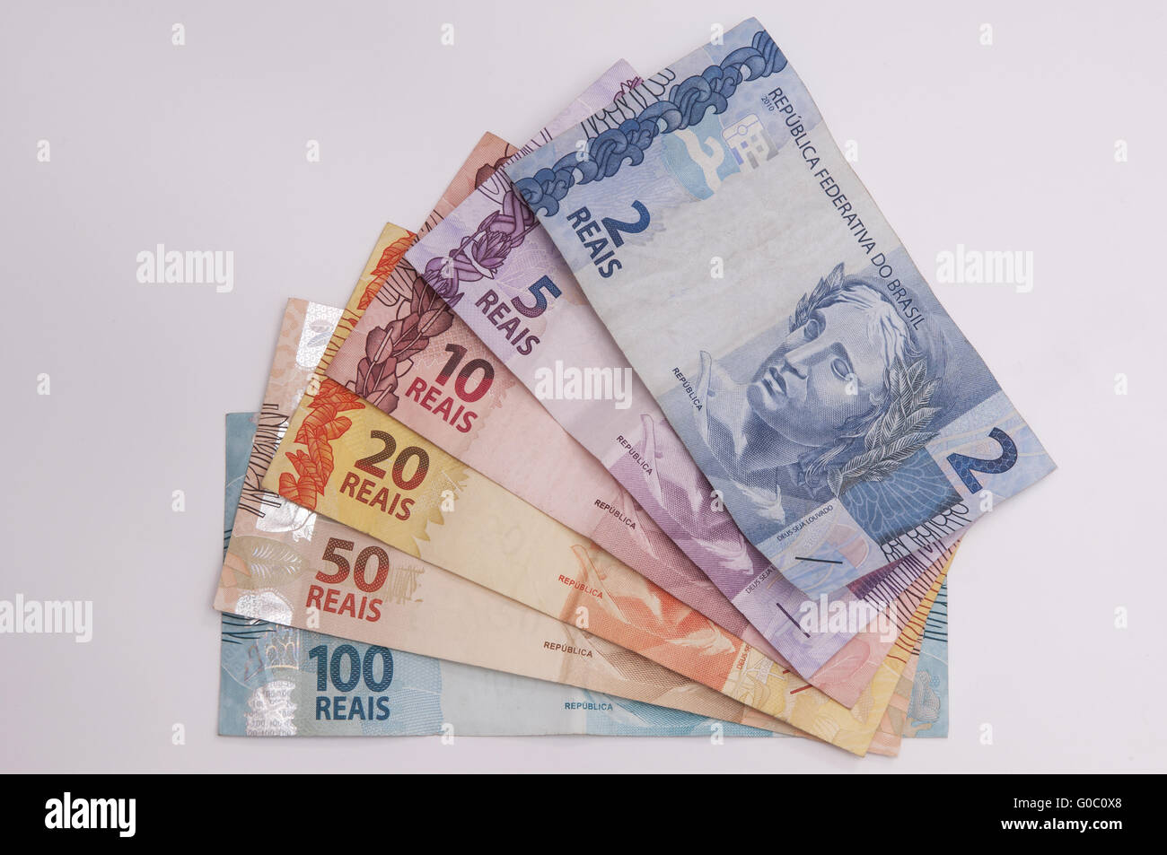 Brazilian Currency (Real) - Stock Image