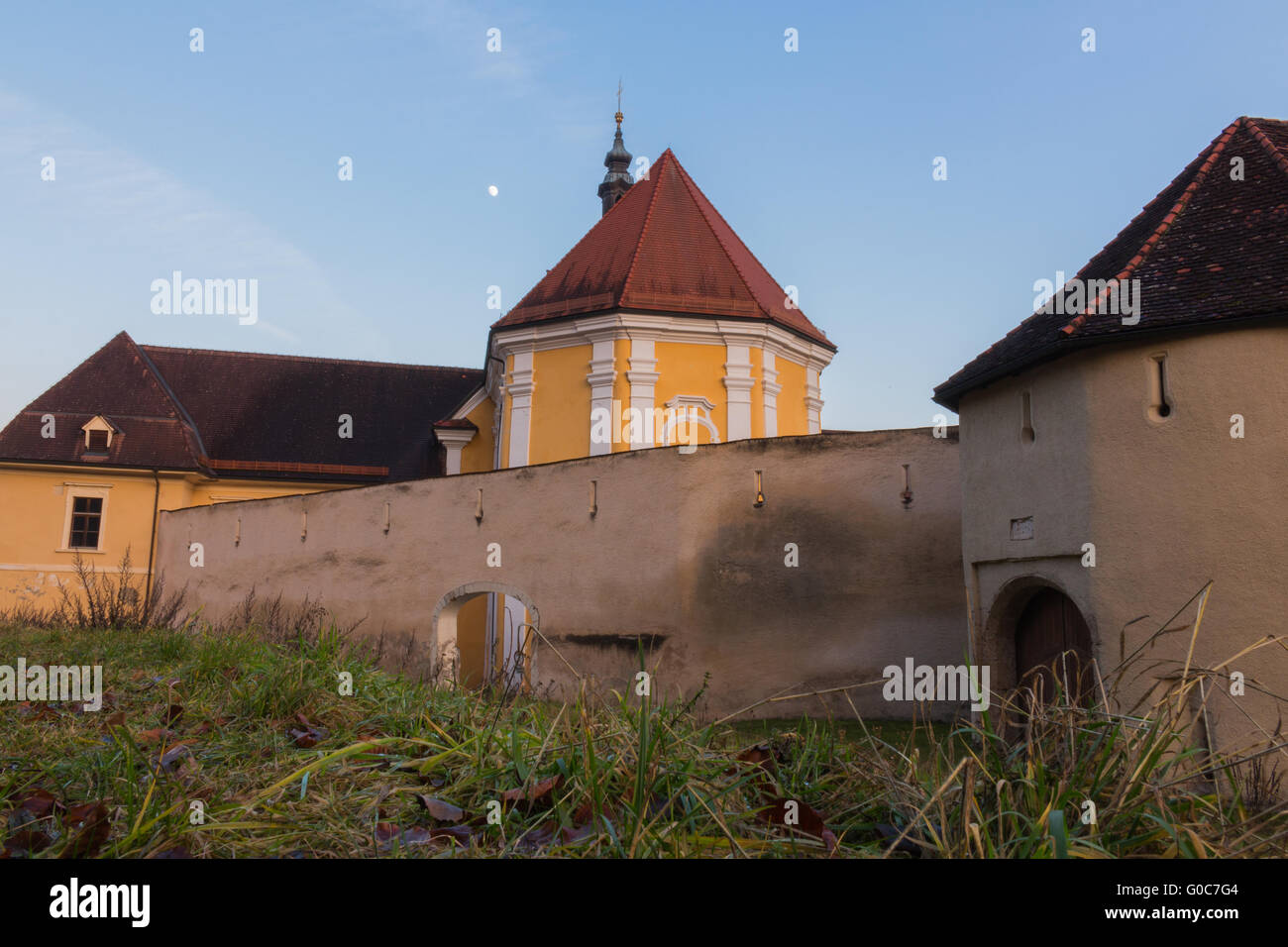 The Rein Abbey - Stock Image