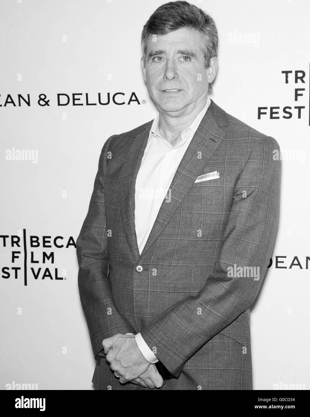 New York City, USA - April 20, 2016: Jay McInnerney attends Tribeca Talks Storytellers Stock Photo