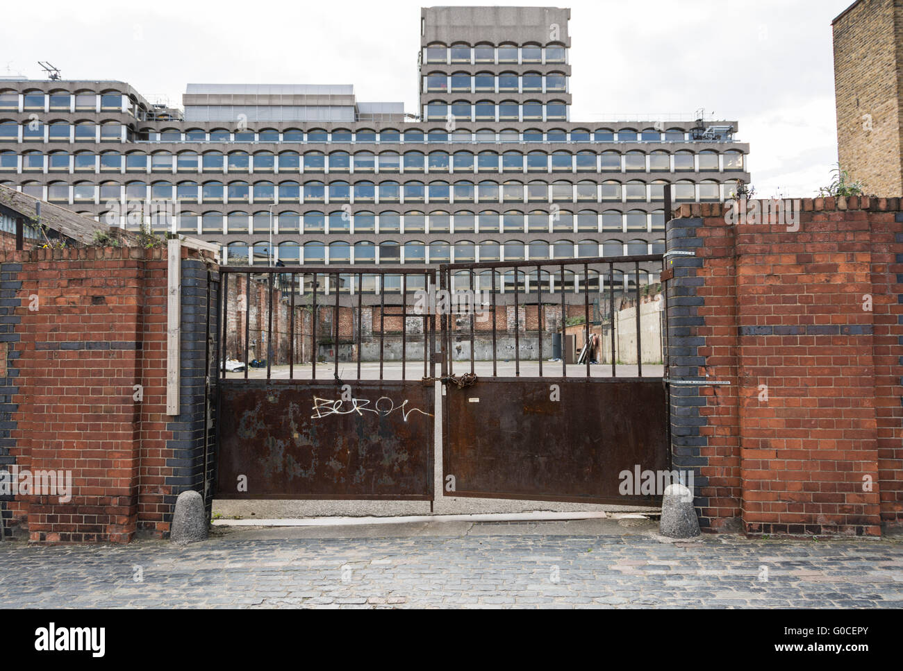 Site of the Postal Museum, Phoenix Place, London, WC1X, UK - Stock Image