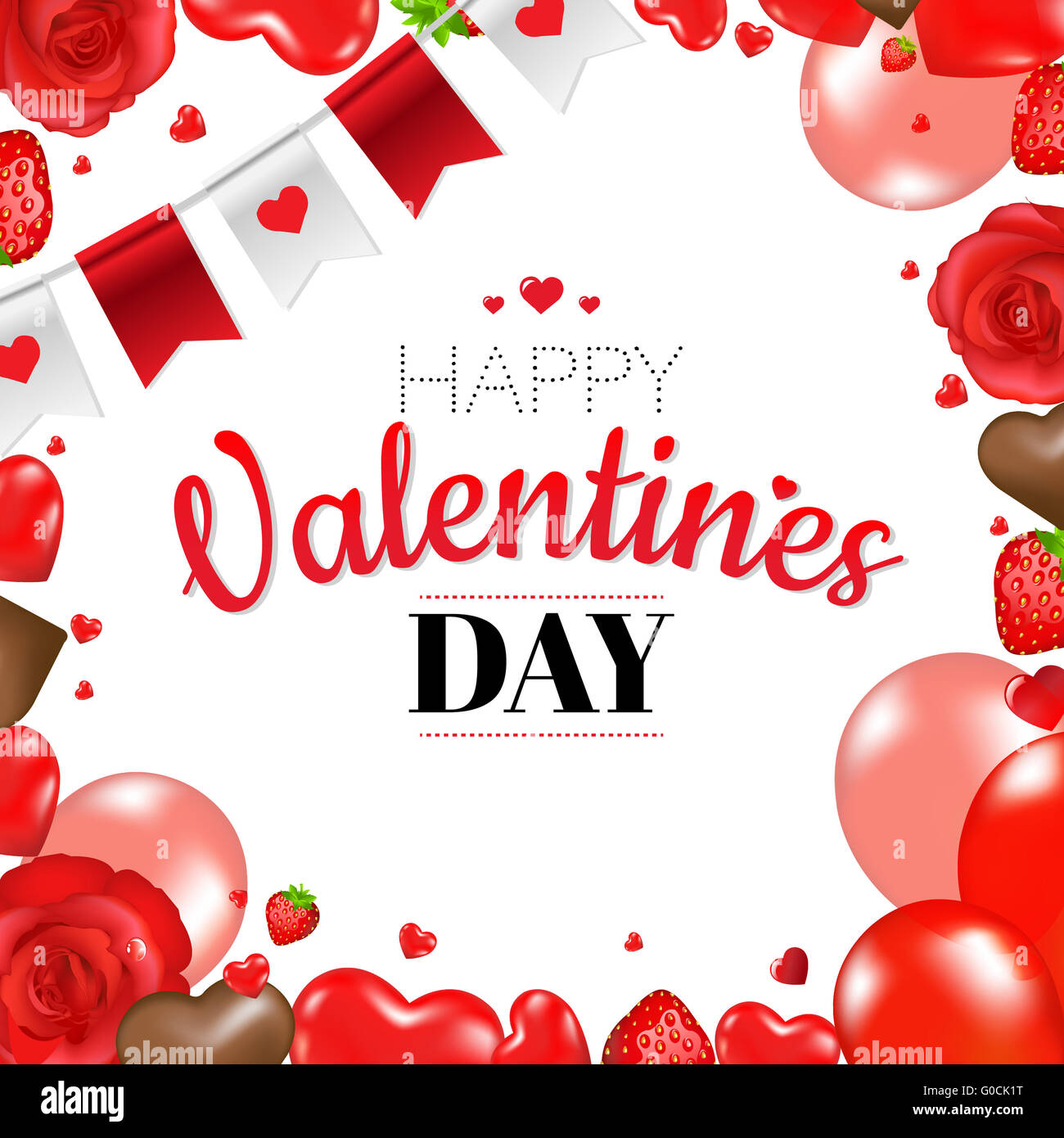 dress - Valentines Happy day border pictures video