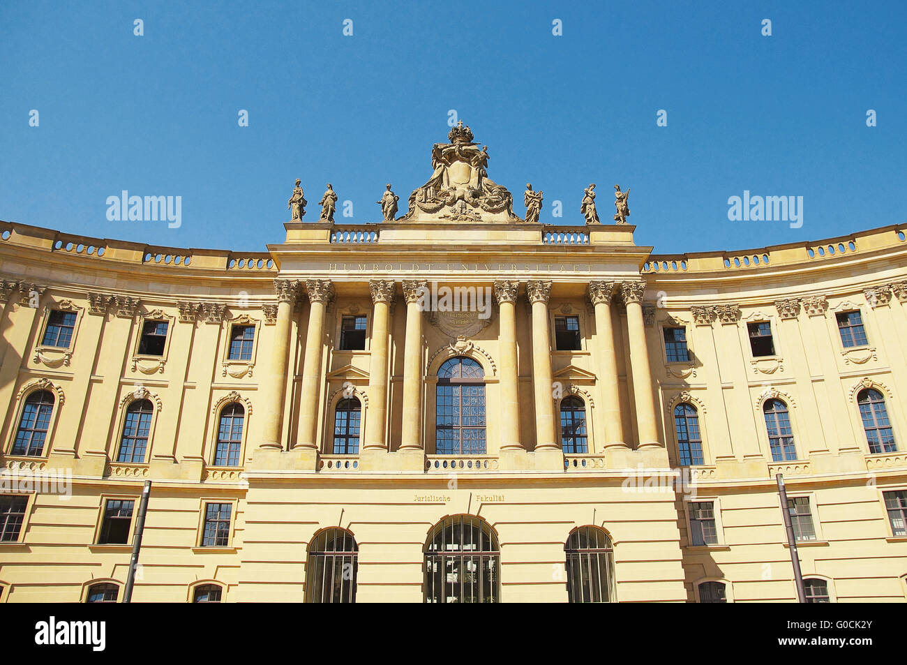Faculty of Law Humboldt University Berlin Germany - Stock Image