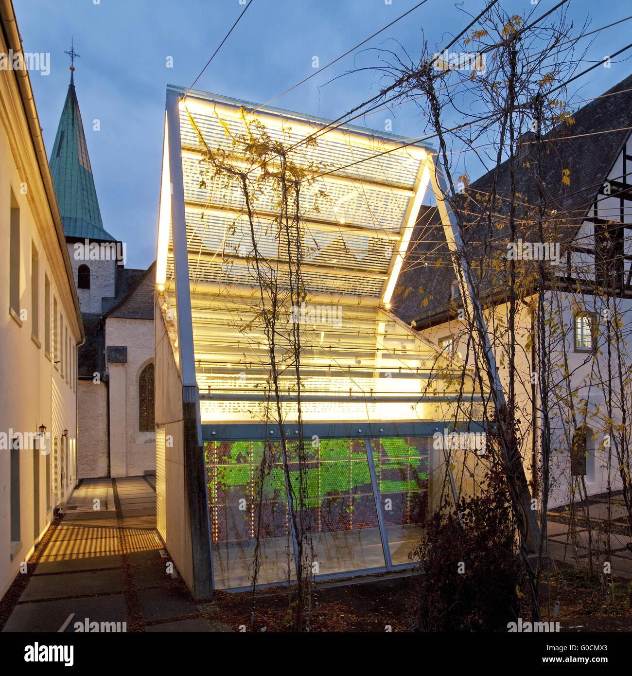 Wedinghausen monastery and light house, Arnsberg Stock Photo